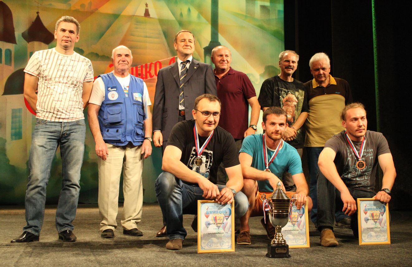 ВЛ 2013 победители Кубка Рябцев